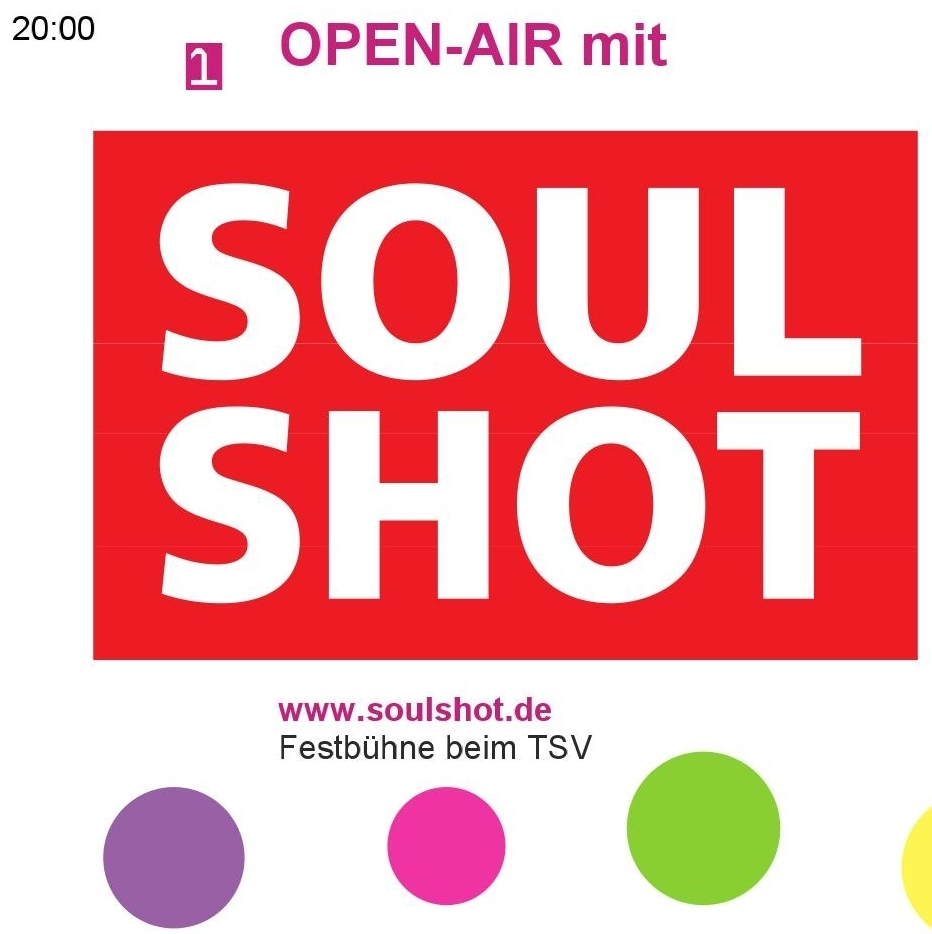 Open-Air mit SOUL SHOT